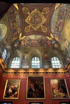 https://flic.kr/p/7iDscg | Techo del Louvre | © 2007 Pedro M. Mielgo. París. Museo del Louvre.