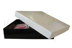 Black & White Mailing Box For Luxury Invitations