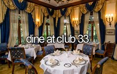 Club 33. Done August 2002. An amazing experience.