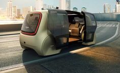 Volkswagen introduces pod-like Sedric concept car for fully driverless future