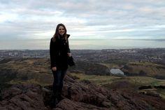 Hiking Arthur's Seat in Edinburgh, Scotland - A Lady and her Luggage