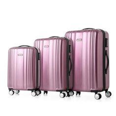 AdoreWe - CHICUU TOMSHOO Luxury Shiny 3PCS Luggage Set - AdoreWe.com
