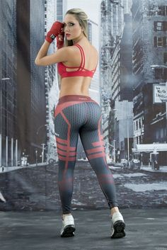 DareDevil - Super Hero Leggings - Fiber - Roni Taylor Fit - 3 These DareDevil Super Hero Leggings from Fiber are great for working out, casual wear or even dressing up for Halloween. You will love these exclusive leggings that are made from the highest qu Cheap Athletic Wear, Cute Athletic Outfits, Cute Gym Outfits, Affordable Workout Clothes, Sexy Workout Clothes, Moda Chic, Gym Leggings, Cheap Leggings, Womens Workout Outfits