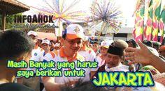 InfoAhok: HUT JAKARTA Ke-489, Ahok Merasa Belum Memberikan Y...