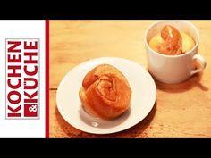 Honigreingerl aus der Tasse von Backen mit Christina. Pancakes, Breakfast, Youtube, Food, Honey, Simple, Food Food, Morning Coffee, Meal