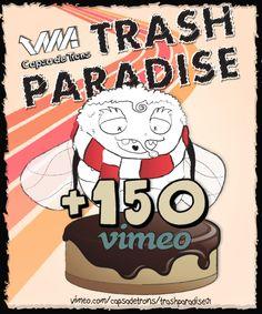 En pocs minuts el 1r capítol aconseguí més de 150 reproduccions. #trash #paradise #animation #award