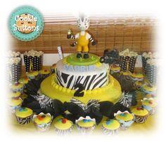 Zou Zebra Cake - La Cebra Zou