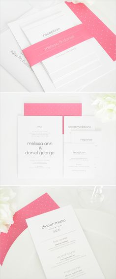 Playful script wedding invitations! #wedding #stationery #invitations #script #pink Shop: Shine Wedding Invitations ---> http://www.shineweddinginvitations.com/wedding-invitations/playful-script-wedding-invitations