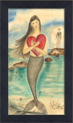 Mermaid Picture - A Sailor's Valentine