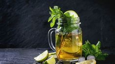 Muddled Mint Iced Green Tea | The Dr. Oz Show