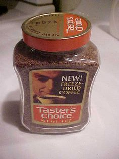1970's Unopened Jar Taster's Choice