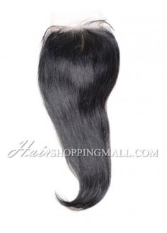 """#1 Lace Closure Indian Remy Hair 4X4"""" Straight [CI01]"""