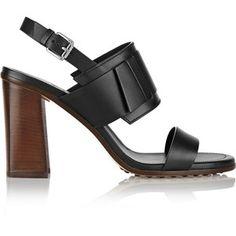 Tod's Leather sandals (block heels) <3