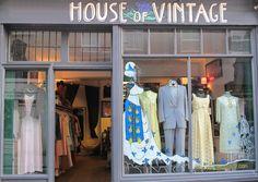 Une boutique vintage chic : House of Vintage  // 4 Cheshire Street, London E2 6EH – Tél. : +44 0(2)0 7739 8142 www.houseofvintageuk.com