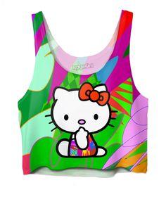 Hello Kitty Drome Crop Top