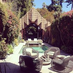America's Most Haunted Houses | POPSUGAR Home The Sowden House Nestled in the heart of the LA
