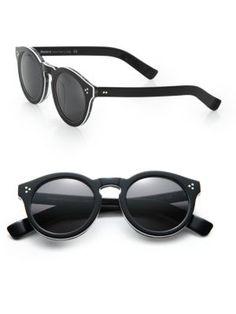 ILLESTEVA Leonard II 53MM Round Sunglasses. #illesteva #sunglasses