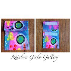 Rainbow Gecko Gallery Canvas Coin Purse by RainbowGeckoGallery