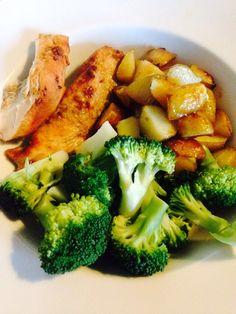 Sweet chicken and potato bake 90 daysss plan The Body Coach Cycle 1 Bodycoach Recipes, Joe Wicks Recipes, World Recipes, Quick Healthy Meals, Healthy Eating Recipes, Healthy Alternatives, Healthy Options, Joe Wicks Lean In 15, Body Coach