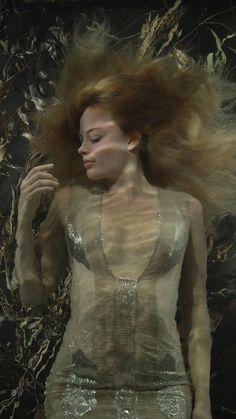 Margot Robbie by Bill Viola