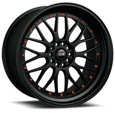 18x10 XXR 521 Black Rims for your Car