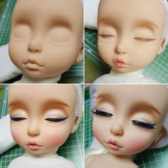 1 million+ Stunning Free Images to Use Anywhere Polymer Clay Figures, Polymer Clay Miniatures, Ooak Dolls, Art Dolls, Disney Baby Dolls, Sculpting Tutorials, Disney Animator Doll, Free To Use Images, Eye Painting