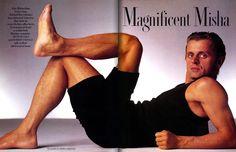 Mikhail Baryshnikov for Vanity Fair Magazine, January 1987 ~ Photo by Annie Leibovitz