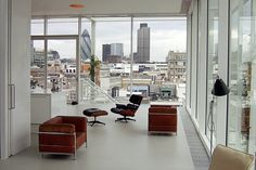 Roof Garden Apartment, London // Bestlite BL3 from Gubi @Architonic