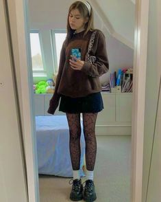 Adrette Outfits, Indie Outfits, Cute Casual Outfits, Retro Outfits, Grunge Outfits, Vintage Outfits, Fashion Outfits, 2000s Fashion, Grunge Fashion