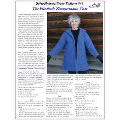 Schoolhouse Press -  The Elizabeth Zimmermann Coat - SPP51 - Patterns