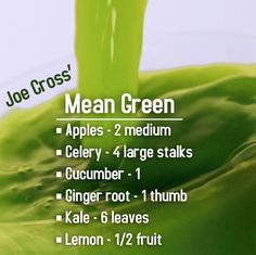 Green This is the world's most famous juice recipe, thanks to the inspirational Joe Cross!This is the world's most famous juice recipe, thanks to the inspirational Joe Cross! Joe Cross Juice Recipes, Juice Fast Recipes, Green Juice Recipes, Healthy Juice Recipes, Juicer Recipes, Healthy Detox, Healthy Juices, Healthy Smoothies, Healthy Drinks