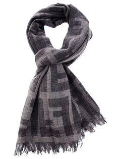 FENDI - monogram scarf 1