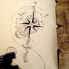 sketch page 4 clocks and other crochet pinterest sketches tattoo and tatoo. Black Bedroom Furniture Sets. Home Design Ideas