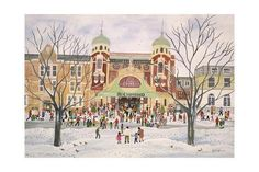 size: Giclee Print: Richmond Theatre, Surrey, 1988 by Judy Joel : Richmond Palace, Richmond Surrey, Richmond London, Richmond Upon Thames, Old Pictures, Old Photos, Richmond Green, Beautiful Streets, London Art