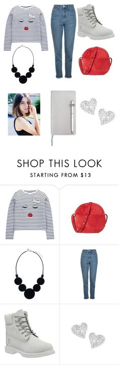 """""""Fashion Forward"""" by weirdsassypinas ❤ liked on Polyvore featuring BAGGU, Topshop, Timberland, Vivienne Westwood and ICE London"""