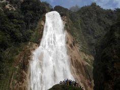 Cascada Velo de novia en el Chiflon Chiapas - YouTube