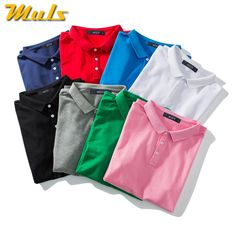Cheap men polo, Buy Quality male polo directly from China polo men Suppliers: 8Colors Dry EX polo men simple style quality cotton mens polo top casual breathable male polos fitted size M-4XL White Black