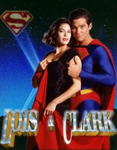 b5ea193727 Teri Hatcher (as Lois Lane) with Dean Cain (as Superman/Clark Kent) in Lois  & Clark: The New Adventures of Superman Loved this show!