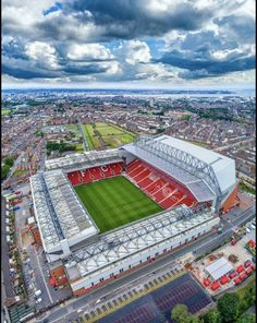One of the greatest sporting events on the planet is soccer, generally known as football in many countries around the world. Liverpool Fc Stadium, Liverpool Anfield, Liverpool Players, Soccer Stadium, Liverpool Fans, Liverpool Football Club, Football Stadiums, Liverpool Tattoo, Football Fans