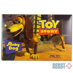 トイストーリー スリンキードッグ プルトイ 箱付 Toy Story SLINKY DOG Pull Toy #ToyStory #トイストーリー #ピクサー #Pixar #Disney #ディズニー #アメトイ #アメリカントイ #おもちゃ  #おもちゃ買取 #フィギュア買取 #アメトイ買取 #vintagetoys #中野ブロードウェイ #ロボットロボット  #ROBOTROBOT #中野 #トイストーリー買取  #ピクサー買取 #WeBuyToys