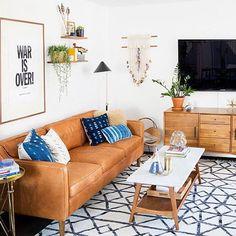 Domino Mag | New Darlings Living Room