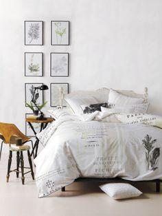 Botanical bedroom (duvet set from Simons) Decor, Duvet Cover Sets, Dream Decor, Home Decor Online, Ikea Design, Bed, Home, Home Bedroom, Home Decor