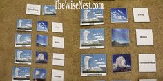 Types of Clouds Cards – Two Choices :) (FREE PRINTABLES)