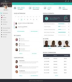 Loxa stylist dashboard