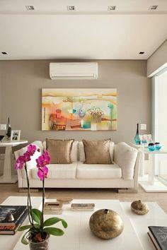 Conheça como as cores de paredes podem mudar completamente a decoração da sua casa com poucas recursos e de maneira rápida.