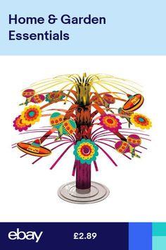 e650f4a26f Mexcian Fiesta Sombrero Maracas Party Cascade Mini Centrepiece Table  Decoration