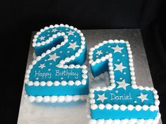 Bespoke Bakery - Cakes for Special Occasions! Based in Basingstoke, Hampshire - Numeral Cakes 21st Birthday Cake For Guys, Number Birthday Cakes, Happy Birthday Nephew, 21st Cake, Number Cakes, 21 Birthday, Birthday Ideas, Birthday Party Venues, Donut Birthday Parties