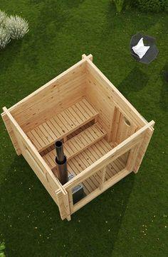 Vill du bygga din egen bastu? Med Bastustuga Ville har du den perfekta lösningen! Ville är en bastu på 4 kvm i modern stil med två stycken panoramafönster.