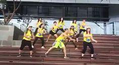 Minion dance - Tiki Tiki Babeloo ❤❤�� ������ Crew: @abbieghazali @fenymurad @honny_toha @merry.bun1 @runisa_tjhin @emmy.goh  @Regrann from @abbieghazali -  Aribaaaaaaaaaa minion time!!! Zumba anywhere everywhere, this is what #zumbalover @goldsgymbaywalk do on sunday morning! Get fit and happier because of zumba �� #tikitikibabeloo #zumbaremix #theminion #minions #zumbacampaign #zumbaindonesia #zumbacommunity #zumbabeto #zumbaworld #zinabbie #zumbacrew #zumbafitness #zumbavideo #zumbachoreo…