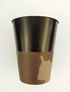 Minnie Mouse Birthday Party Cups Camoflage set by FantasiaForever, $7.00